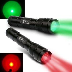 UltraFire Red Light And Green Light Flashlight Pack