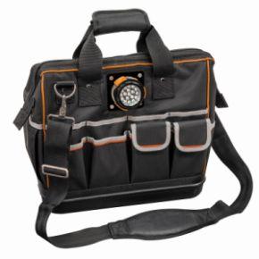 Klein Tools Tradesman Pro Organizer Lighted Tool Bag