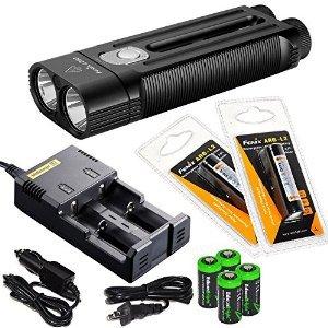FENIX LD50 1800 Lumen Dual CREE XM-L2 LED slim Flashlight