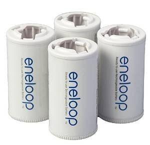 Panasonic Eneloop C Size Spacers