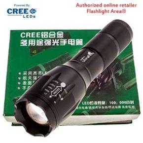 Flashlight Pack Of The Day: UltraFire E17 flashlight, one