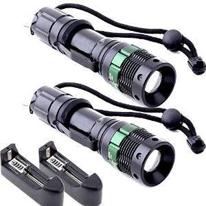 Annt adjustable-zoom flashlights