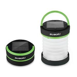 Suaoki Solar Rechargeable LED Lantern Flashlight
