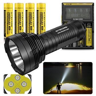 Nitecore TM16GT: LED Flashlight Emits 3600 Lumens And 1003 ...