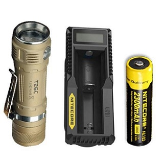 Sunwayman T26C: Compact Flashlight Emits 800 Lumen Blast ...