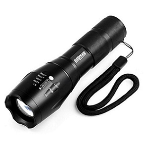 Bestkee BE-930 Professional Series Tactical Flashlight Kit