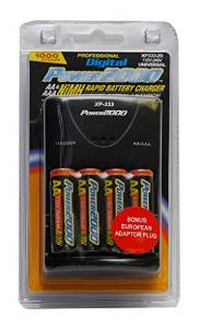 Vidpro Power2000 XP-333 Rapid AA AAA Battery Charger Set