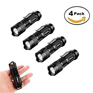four-mini-cree-zoomable-flashlights